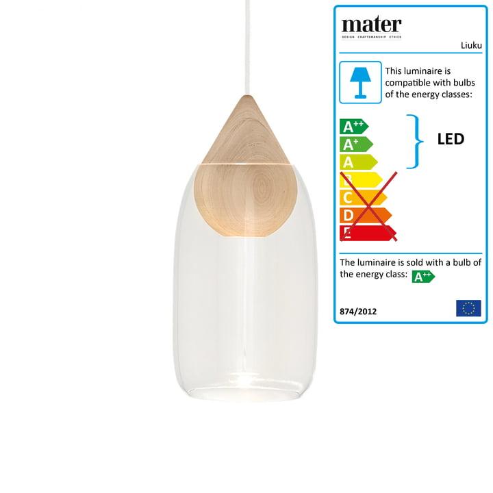 Liuku pendel Drop fra Mater