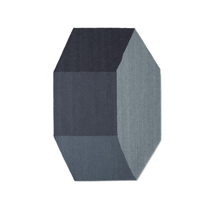 Willenz Volume tæppe small fra Menu i blå