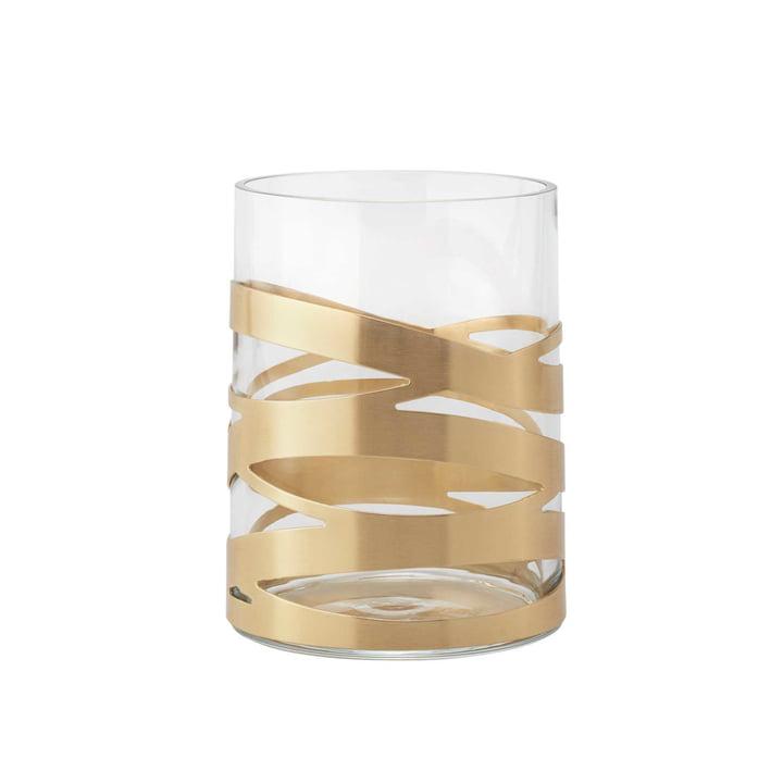 Tangle Vase fra Stelton, 16,5 cm, medium, messing