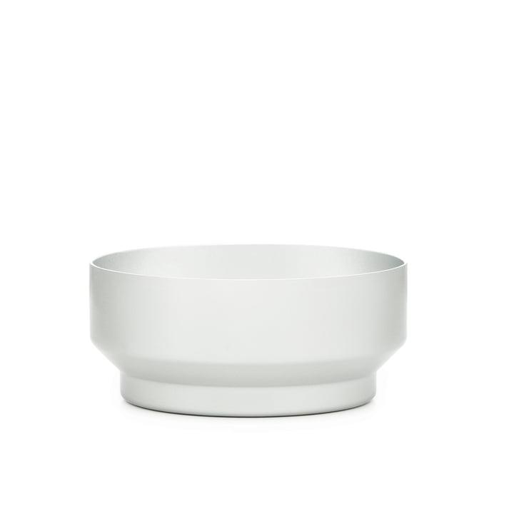 Normann Copenhagen – Meta skål Ø 16 cm, høj, sølv