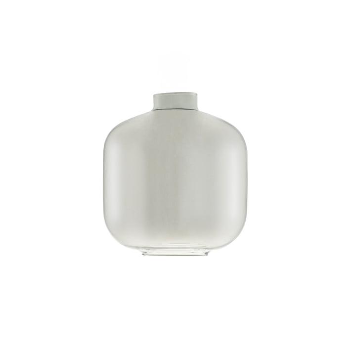 Reserveglas til den lille Amp pendel fra Normann Copenhagen i røgfarvet/sort