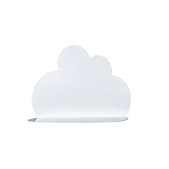 Lille skyhylde fra Bloomingville i hvid