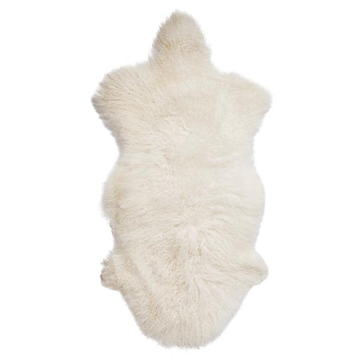 Mongolsk lammeskind fra Bloomingville i hvid