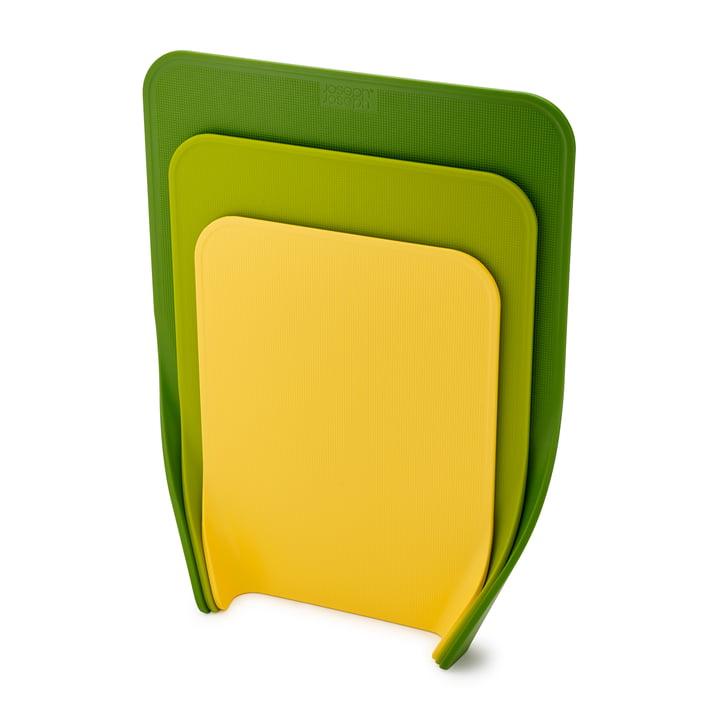 Nest Chop skærebrætter (sæt med 3) af Joseph Joseph i grøn