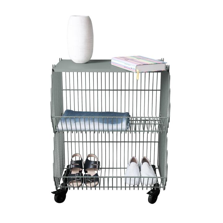 kurv p hjul fra pension f r produkte. Black Bedroom Furniture Sets. Home Design Ideas