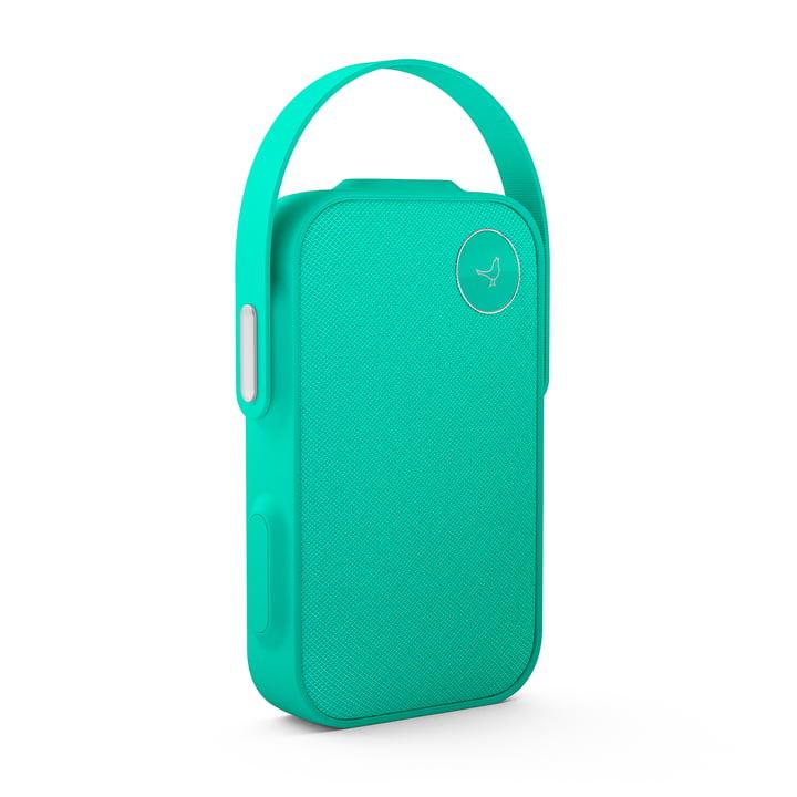 Libratone – One Click Bluetooth højttaler i Caribbean green