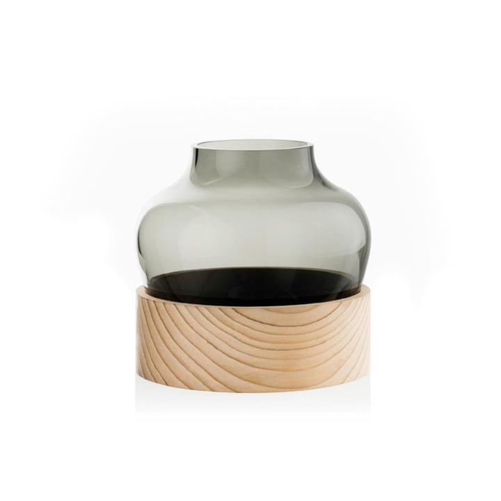 Lav vase fra Fritz Hansen med en højde på 185 mm