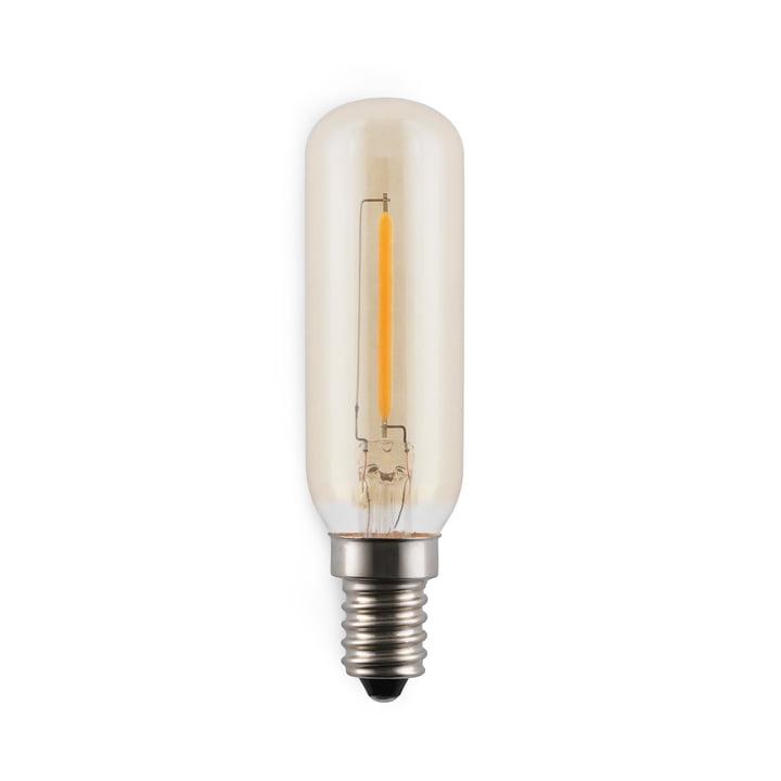 Amp LED-pære fra Normann Copenhagen, E12-E14/2 W, klar