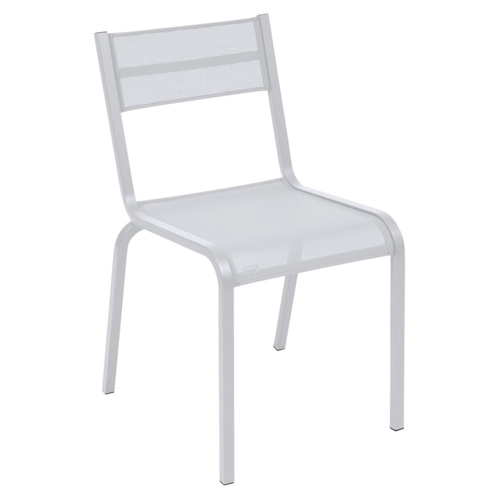Oléron stol fra Fermob i bomuldshvid