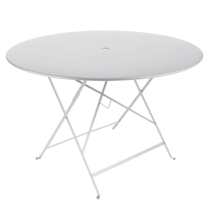 Bistro klapbord på Ø 117 cm fra Fermob i bomuldshvid