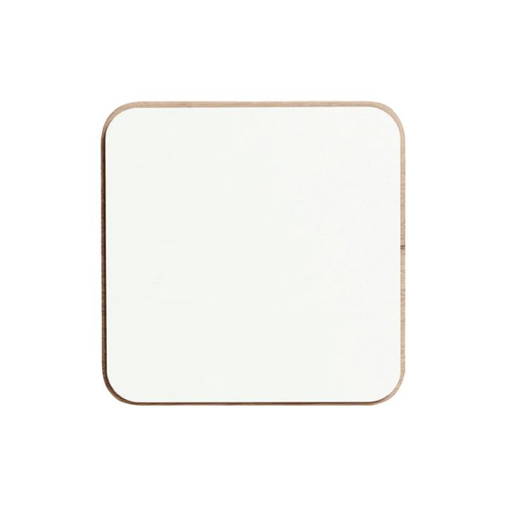 Create Me låg til kasser på 12 x 12 cm fra Andersen Furniture i alpino-hvid