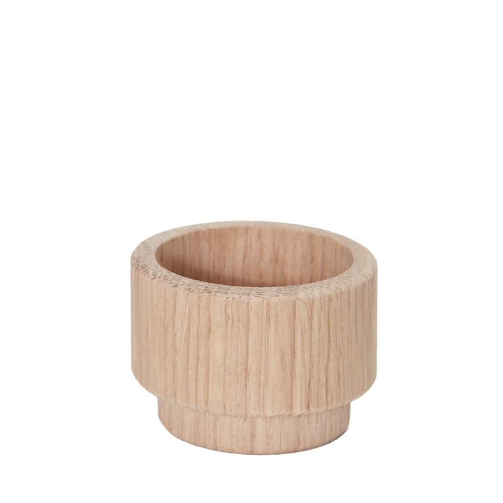 Create Me fyrfadsstage på 3,5 cm fra Andersen Furniture i eg