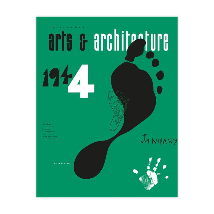 Eames Cover Print Jan 1944 fra Vitra