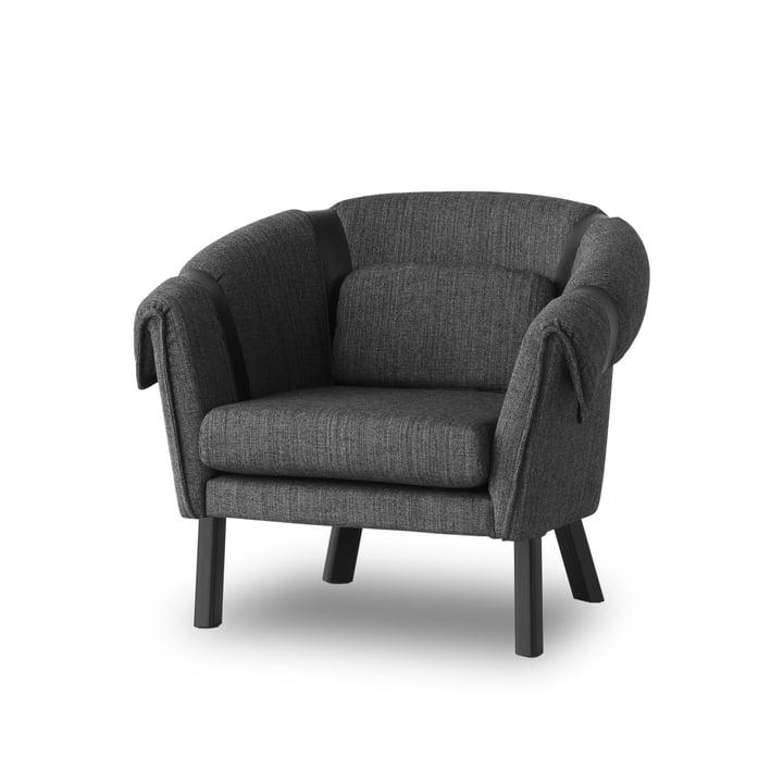 Design House Stockholm – Ram lænestol, mørkegrå