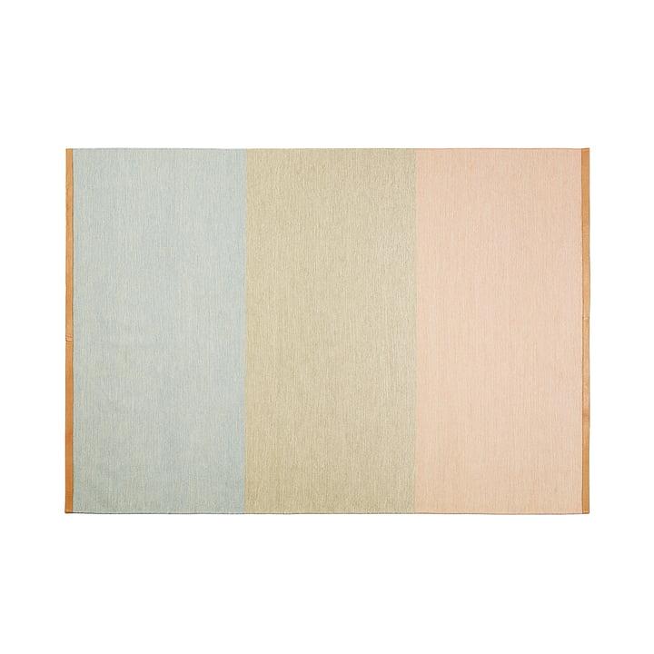 Design House Stockholm – Fields tæppe, 170 x 240 cm, lyserød/beige/blå