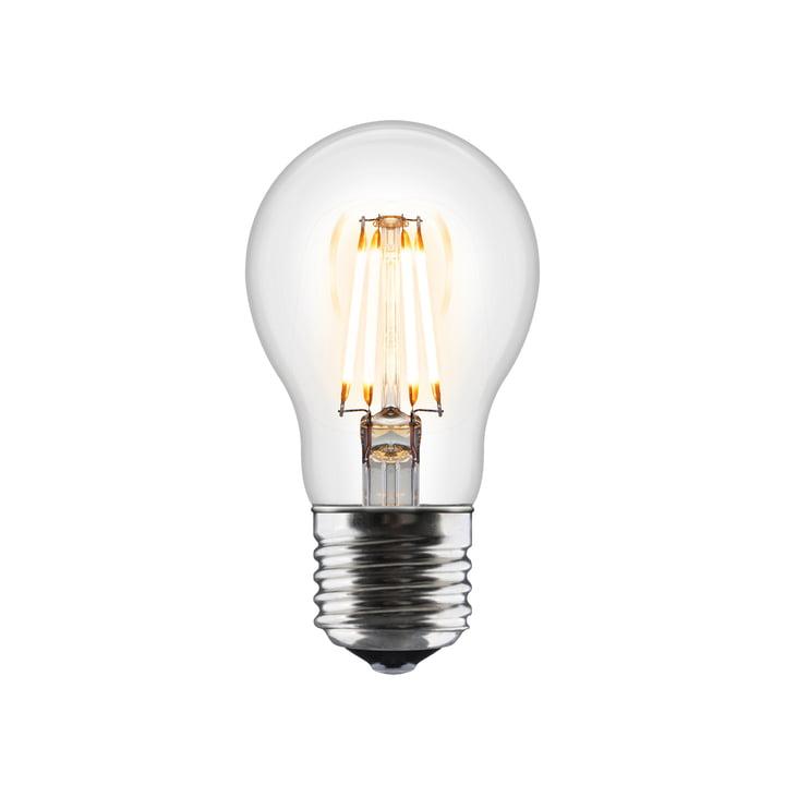 Idea LED-pære E27/6 W fra Umage, klar