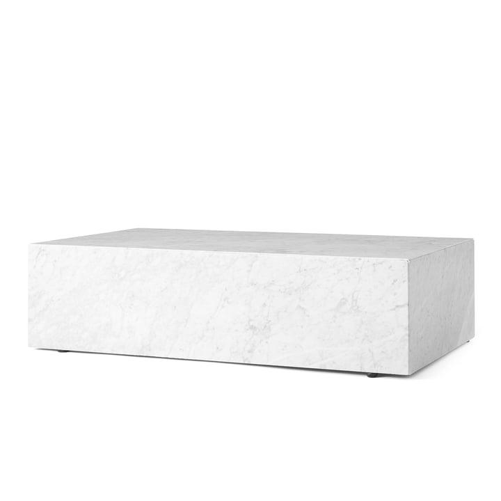 Sokkel sofabord ved menu i hvidt