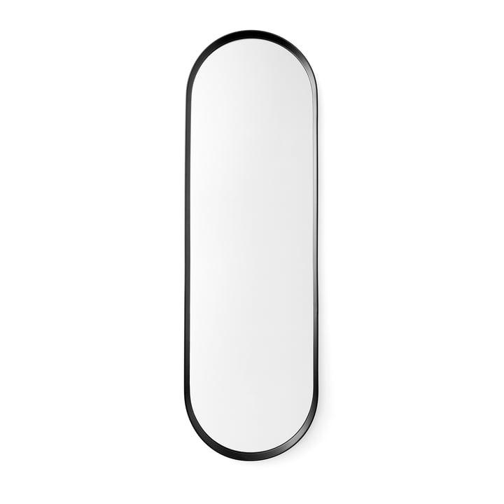 Menu – Norm ovalt spejl, sort