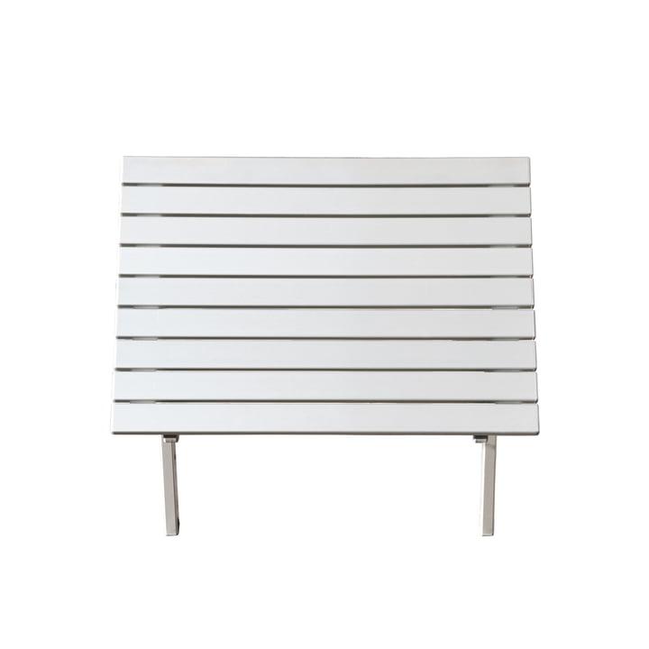 Feel sidebord, Ø 40 cm fra Jan Kurz i hvid