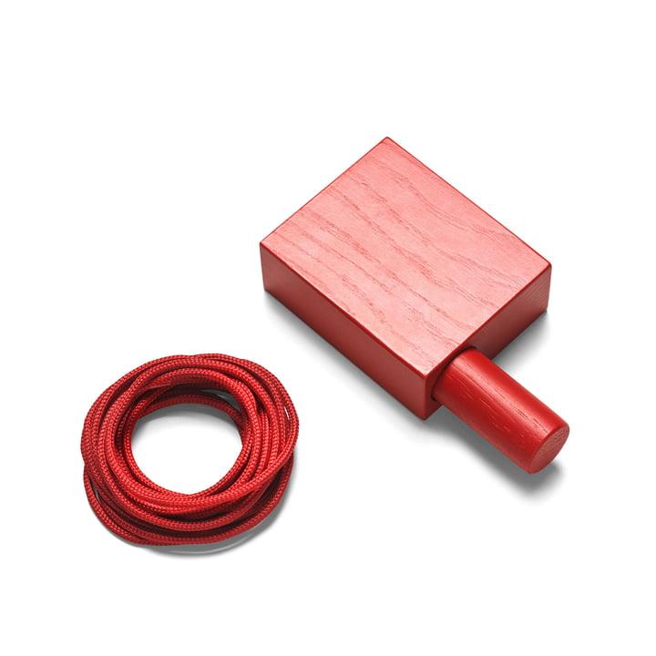 Ophæng til Ready Made Curtain fra Kvadrat i rød (600)