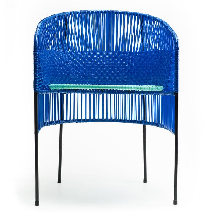 ames – caribe spisebordsstol, sort/mintgrøn/sort