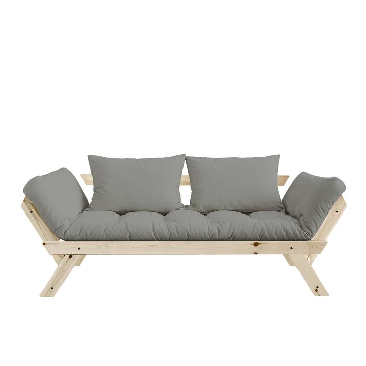 Bebop sofa fra Karup Design i naturlig fyr / grå - 746