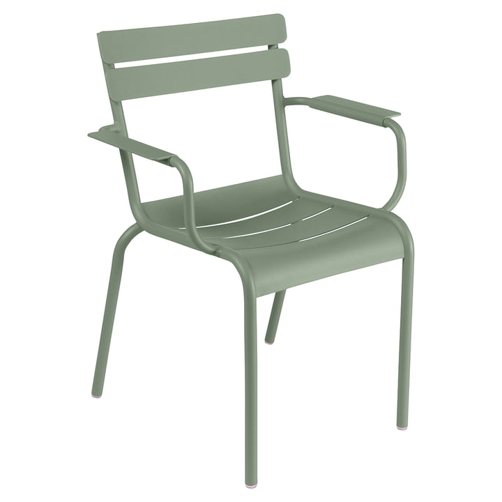 Luxembourg Chair by Fermob in cactus green