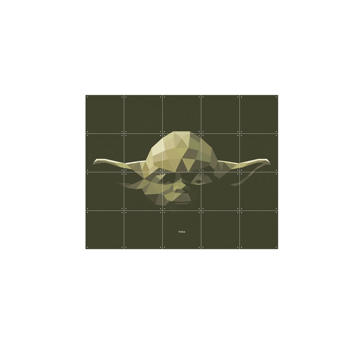 Star Wars Icon: Yoda fra IXXI i 100 x 80 cm