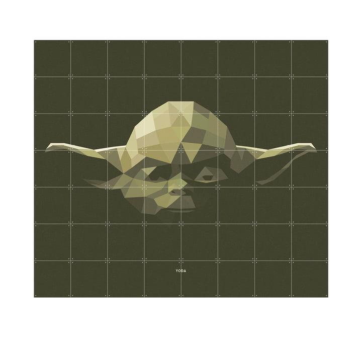 Star Wars Icon: Yoda fra IXXI i 160 x 140 cm