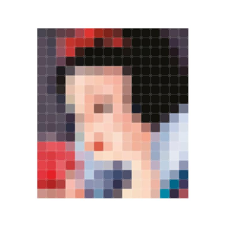 Snehvide (pixel) fra IXXI i 160 x 180 cm