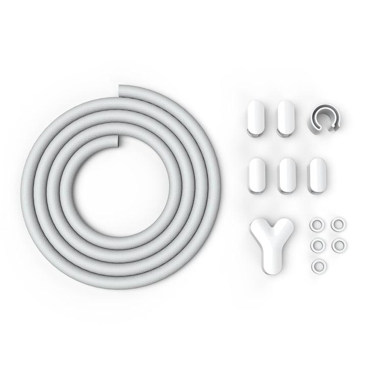 BlueLounge – Soba Cable Management, hvid
