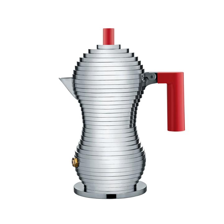 Pulcina espressokande (induktion) fra Alessi i rød