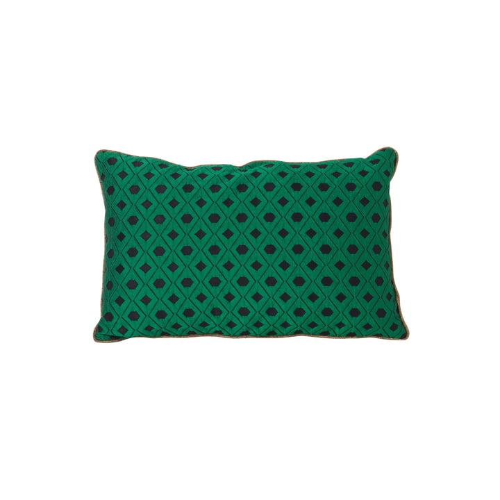 ferm LIVING – salonpude med mosaik 40 x 25 cm, grøn