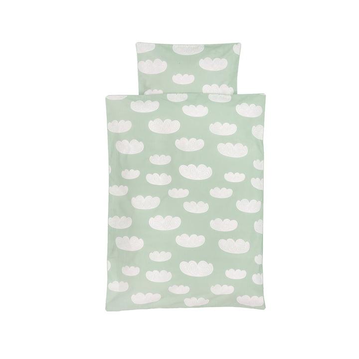 Cloud babysengetøjet fra ferm LIVING i mintgrøn