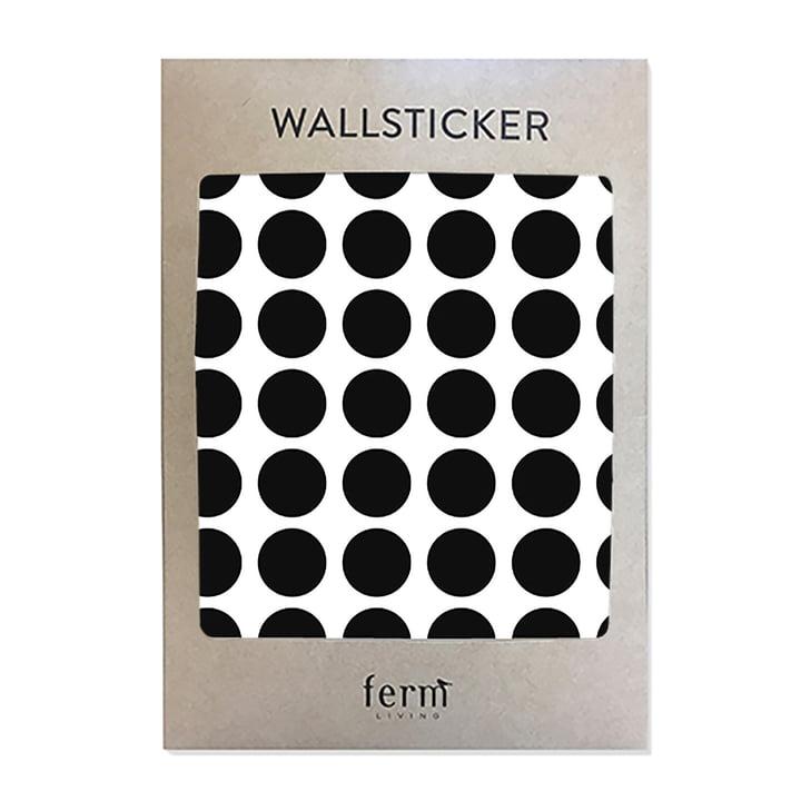 Mini Dots wallstickers fra ferm LIVING i sort