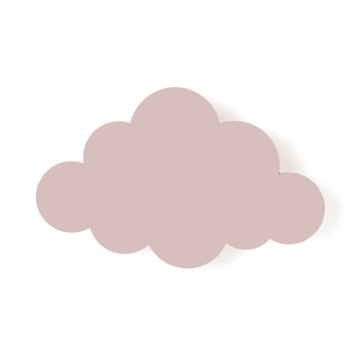 ferm LIVING – Cloud lampe, støvet rosa