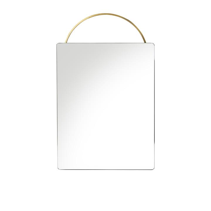 Adorn messingspejl, 35 x 53 cm fra ferm LIVING
