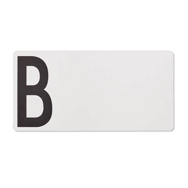 Skærebræt B (brød) fra Design Letters i grå