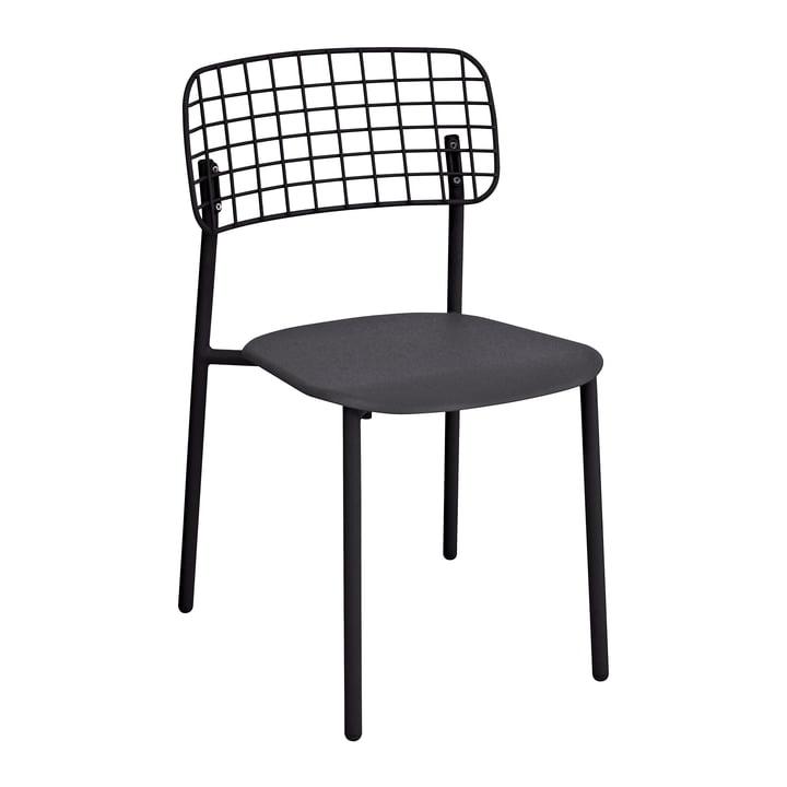 Lyze stol fra Emu i sort