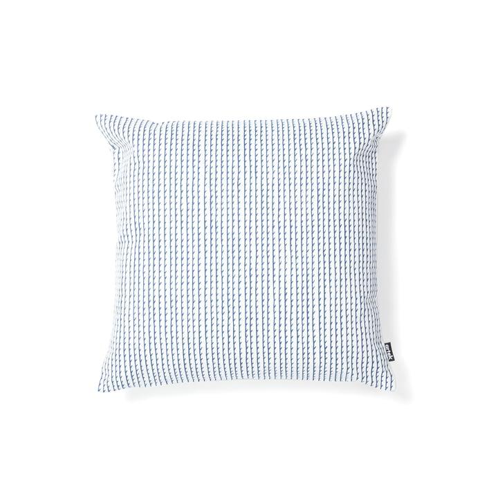 Rivi pudebetræk 40 x 40 cm fra Artek i hvid/blå