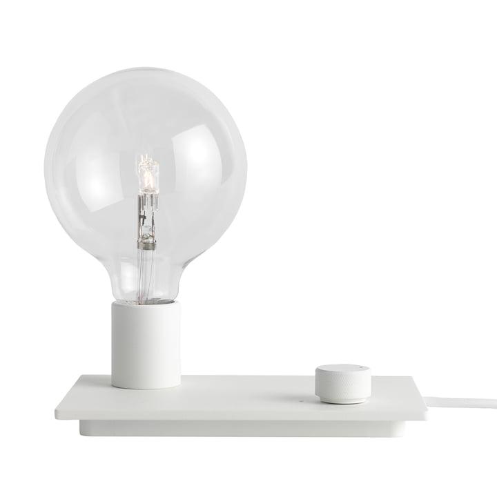 Control bordlampen i hvid fra Muuto.
