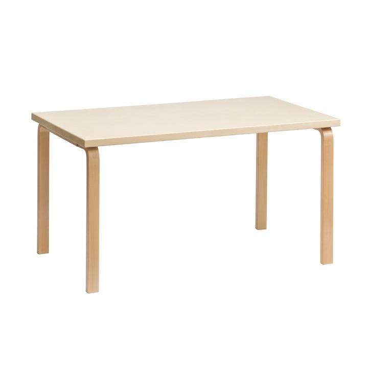 80B bord 10 x 20 cm fra Artek i birk