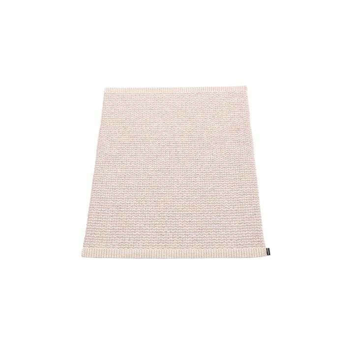 Mono tæppe 60 x 85 cm fra Pappelina i Pale Pink/Ballet Pink
