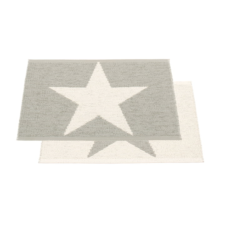 Viggo One tæppe fra Pappelina i Warm Grey/Vanilla