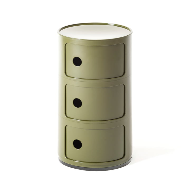 Module Componibili by Kartell in green