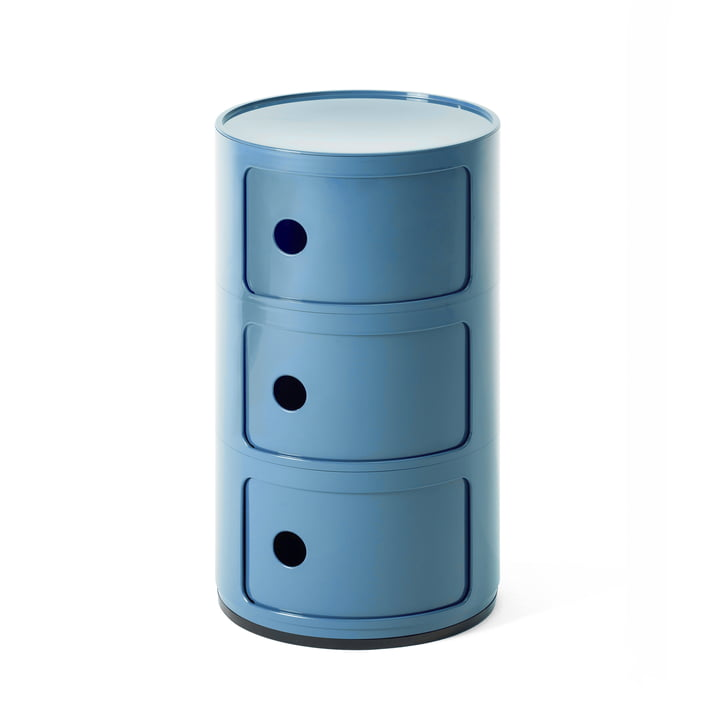 Componibili 4967 by Kartell in blue