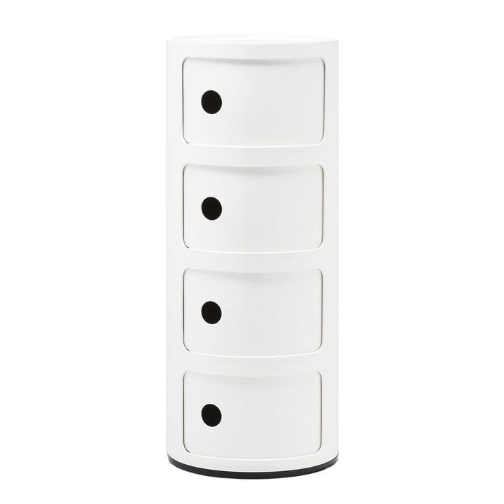 Køb Componibili 4985 fra Kartell i hvid