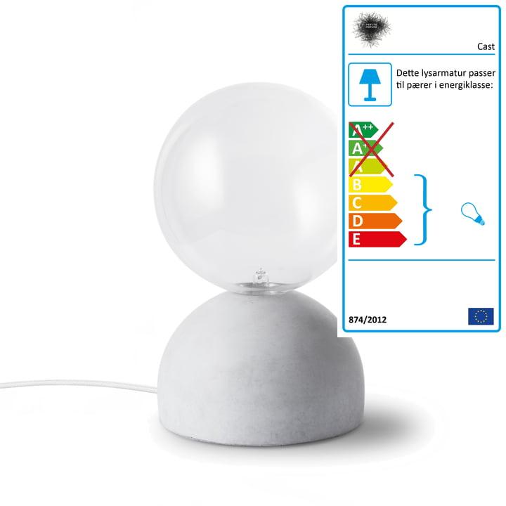 Petite Friture - Cast bordlampe med lysdømper af Petite Friture