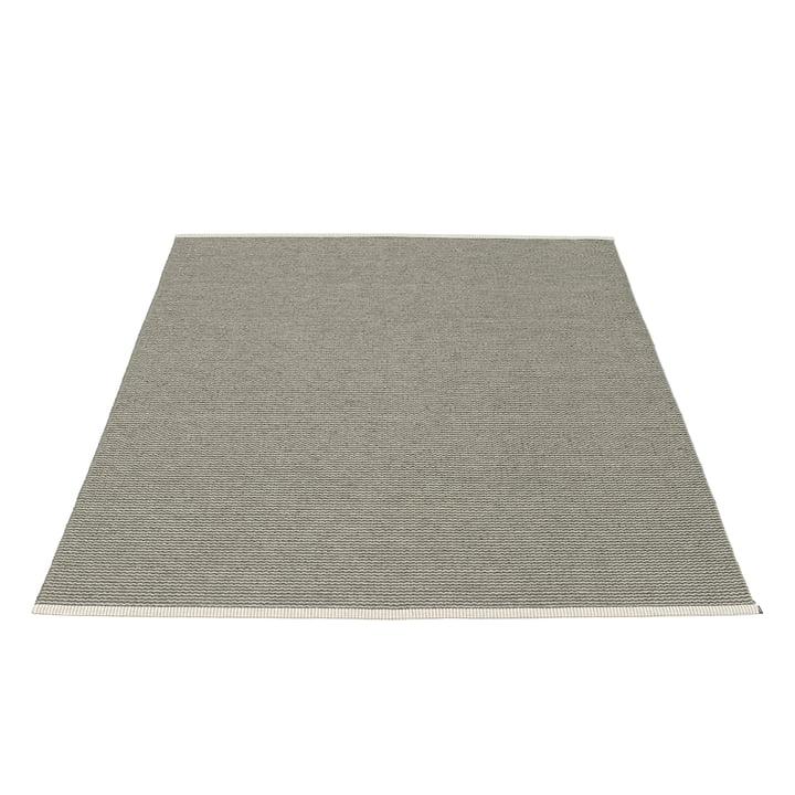Mono tæppe 180 x 220 cm fra Pappelina i Charcoal/Warm Grey