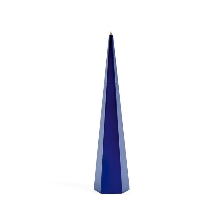 Stående pen fra Areaware i blå femkant